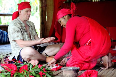 Духовные ритуалы у шаманов Бабаилан