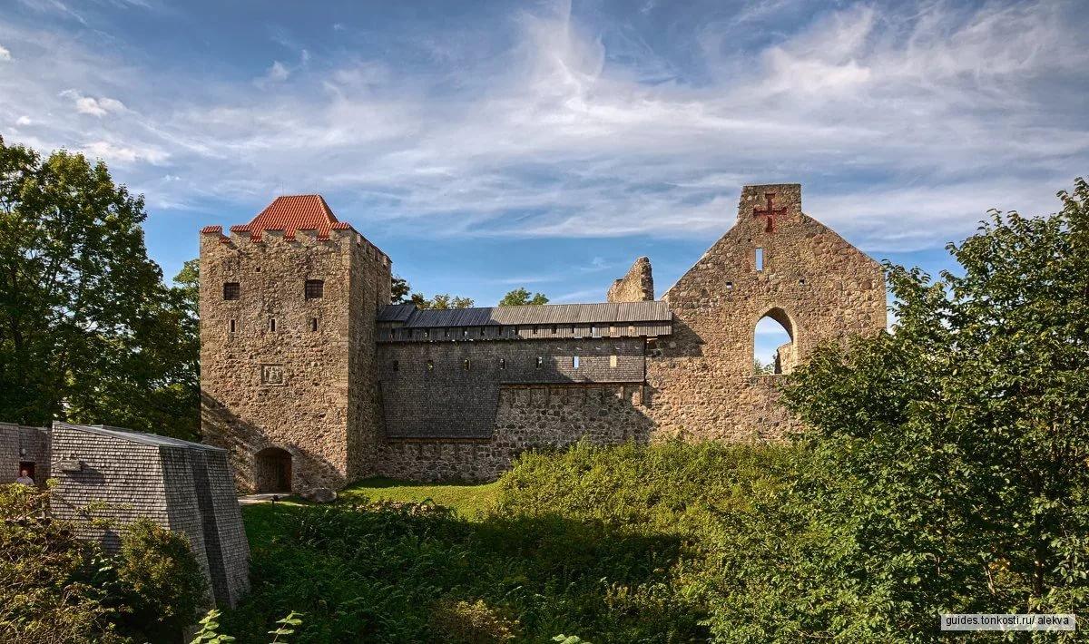 Средневековые замки Сигулды и Турайды