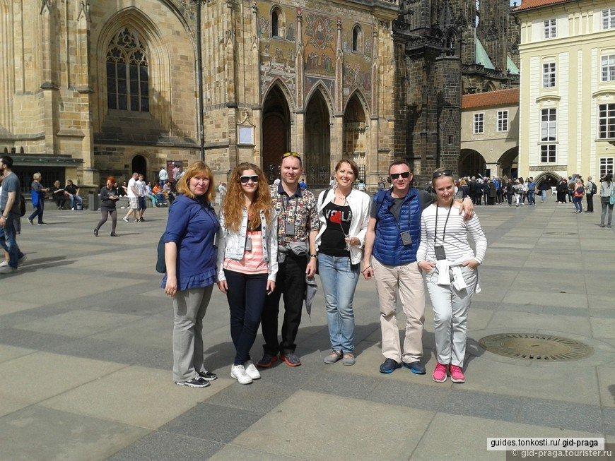 Автомобильно-пешеходная экскурсия по самым интересным и красивым местам Праги