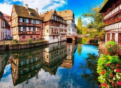 Кольмар: гастрономическая «Мекка Эльзаса», фахверковые эльзасские деревушки XIII века