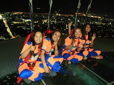 Sky Experience приключения на высоте 127 метров
