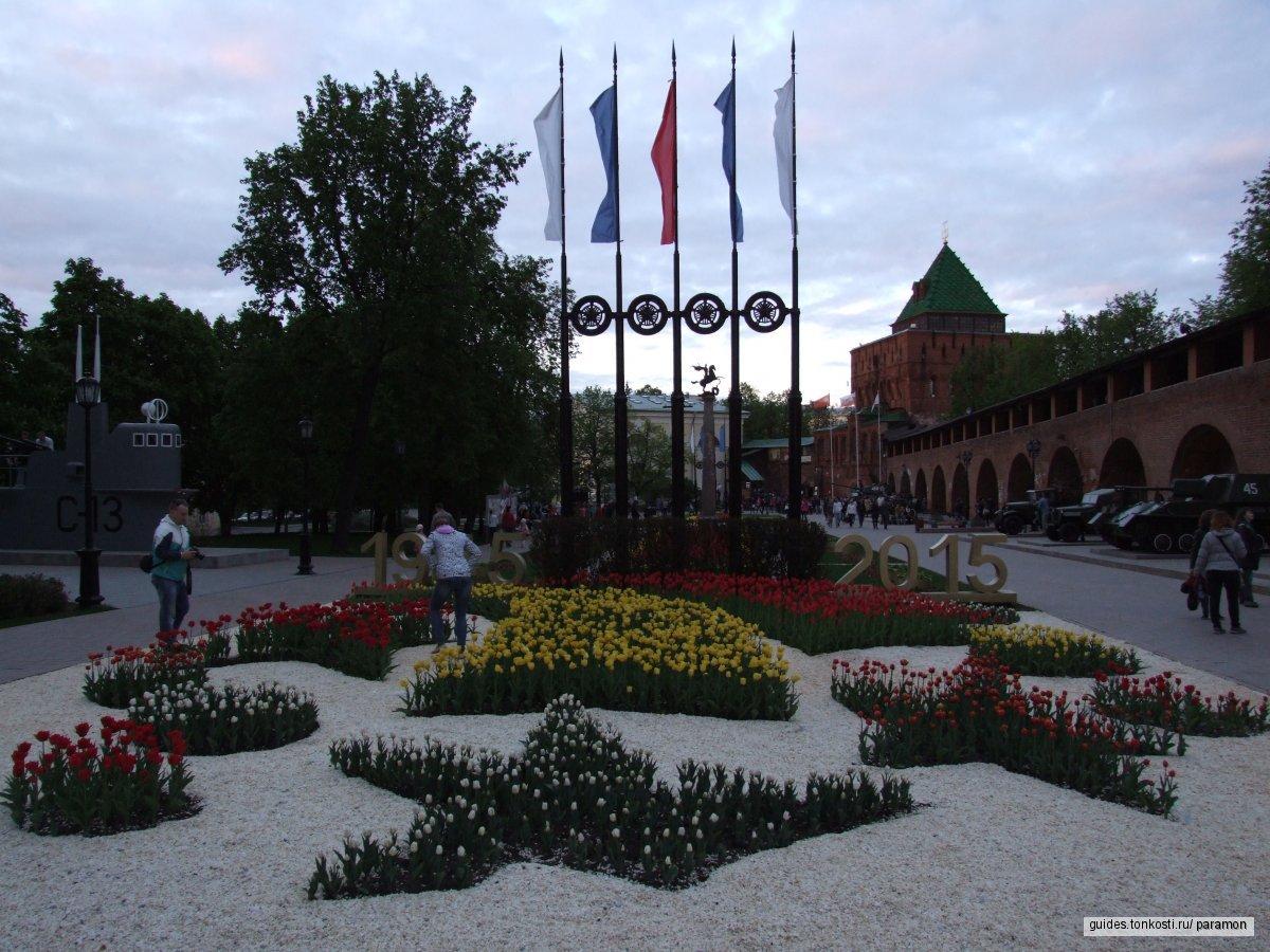 Пешеходный Нижний: Кремль и Большая Покровская