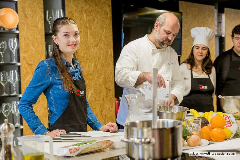 Кулинарный мастер-класс с португальским шеф-поваром у него дома