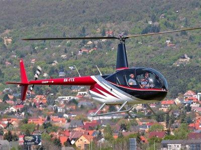 Полет над Будапештом и Сентендре на вертолете