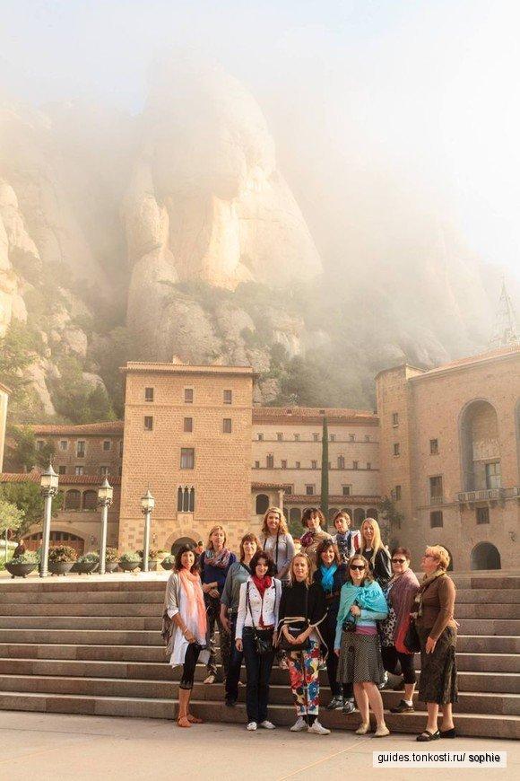 В монастырь Монсеррат