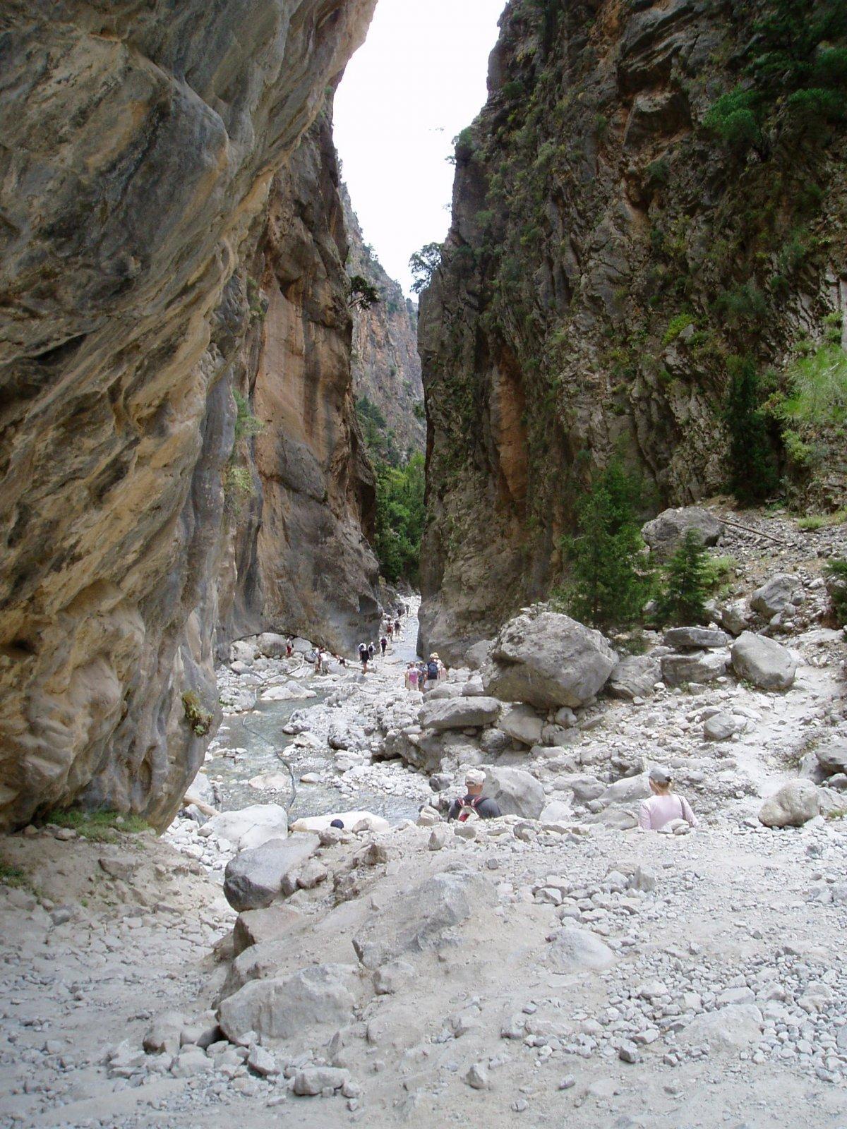 Ущелье Самария