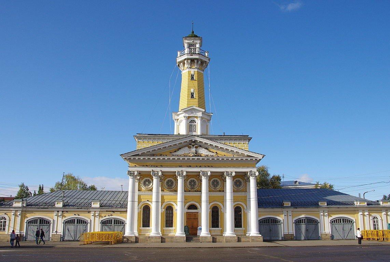 Вдоль Волги в Кострому