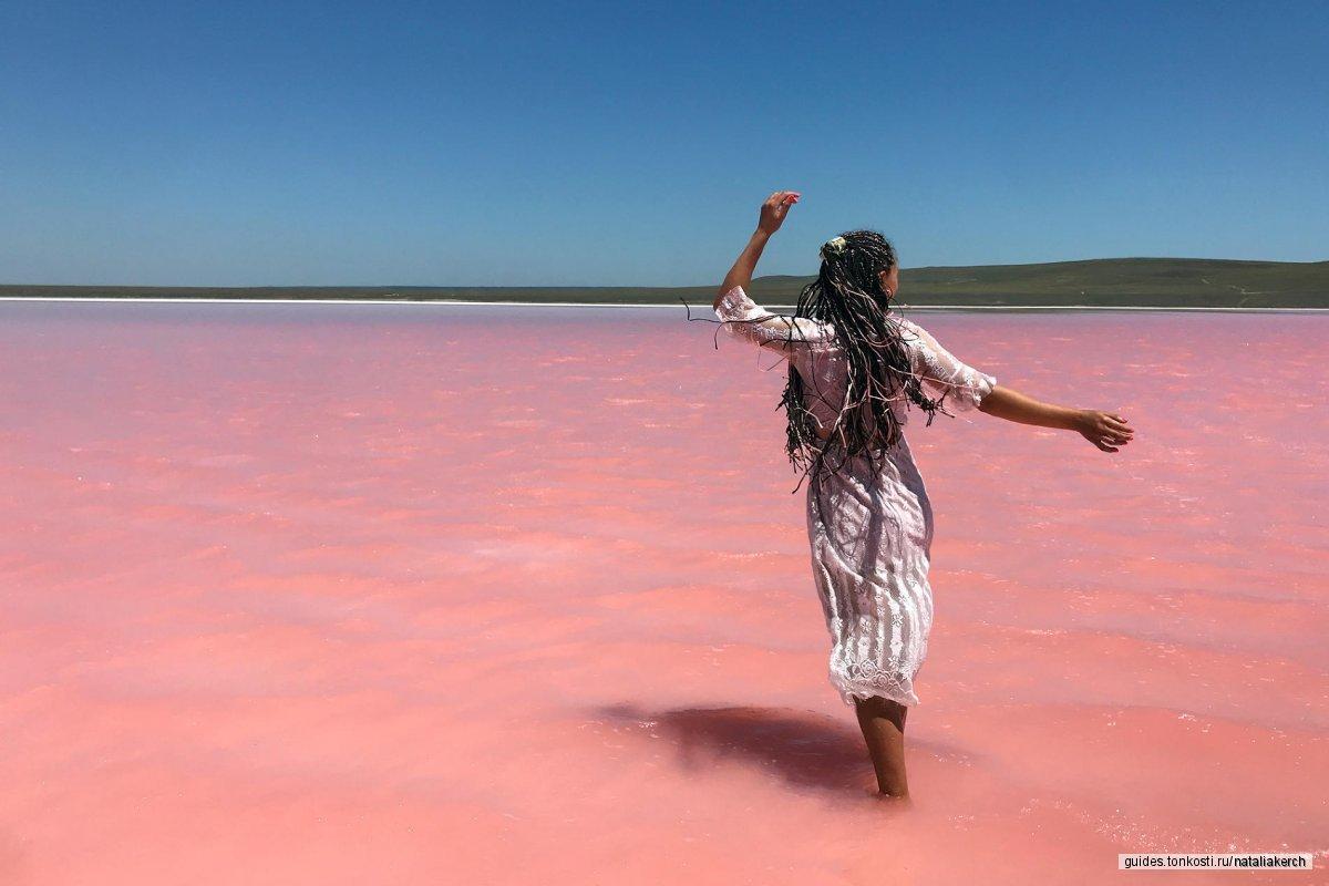 Фото-тур «Розовое озеро»