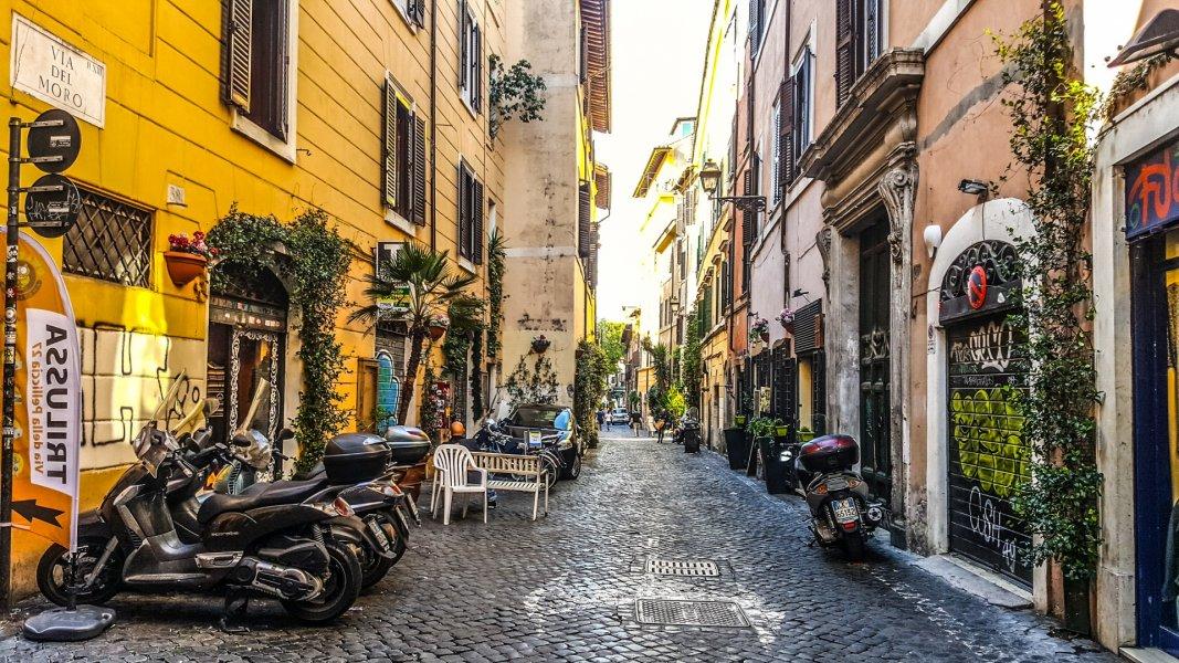 Трастевере, гетто и остров Тиберина