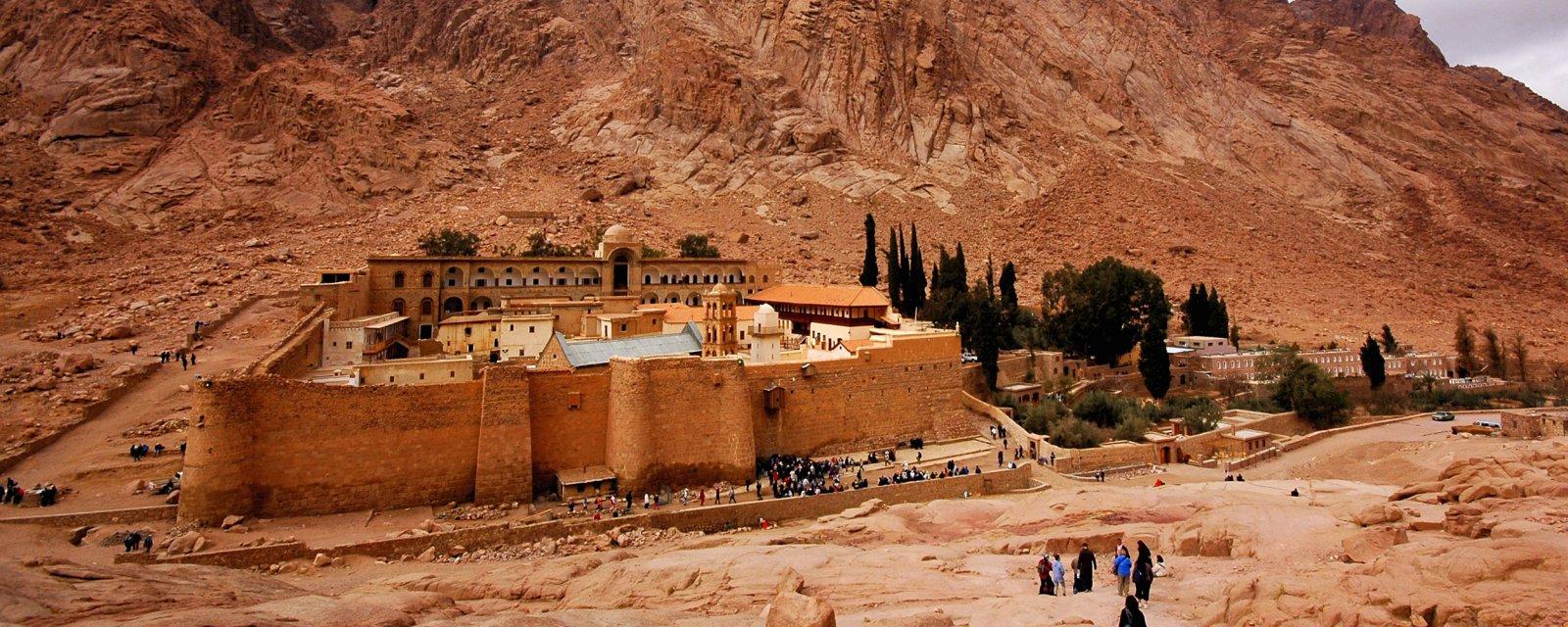 Монастырь Св. Екатерины + Дахаб из Шарм-эль-Шейха