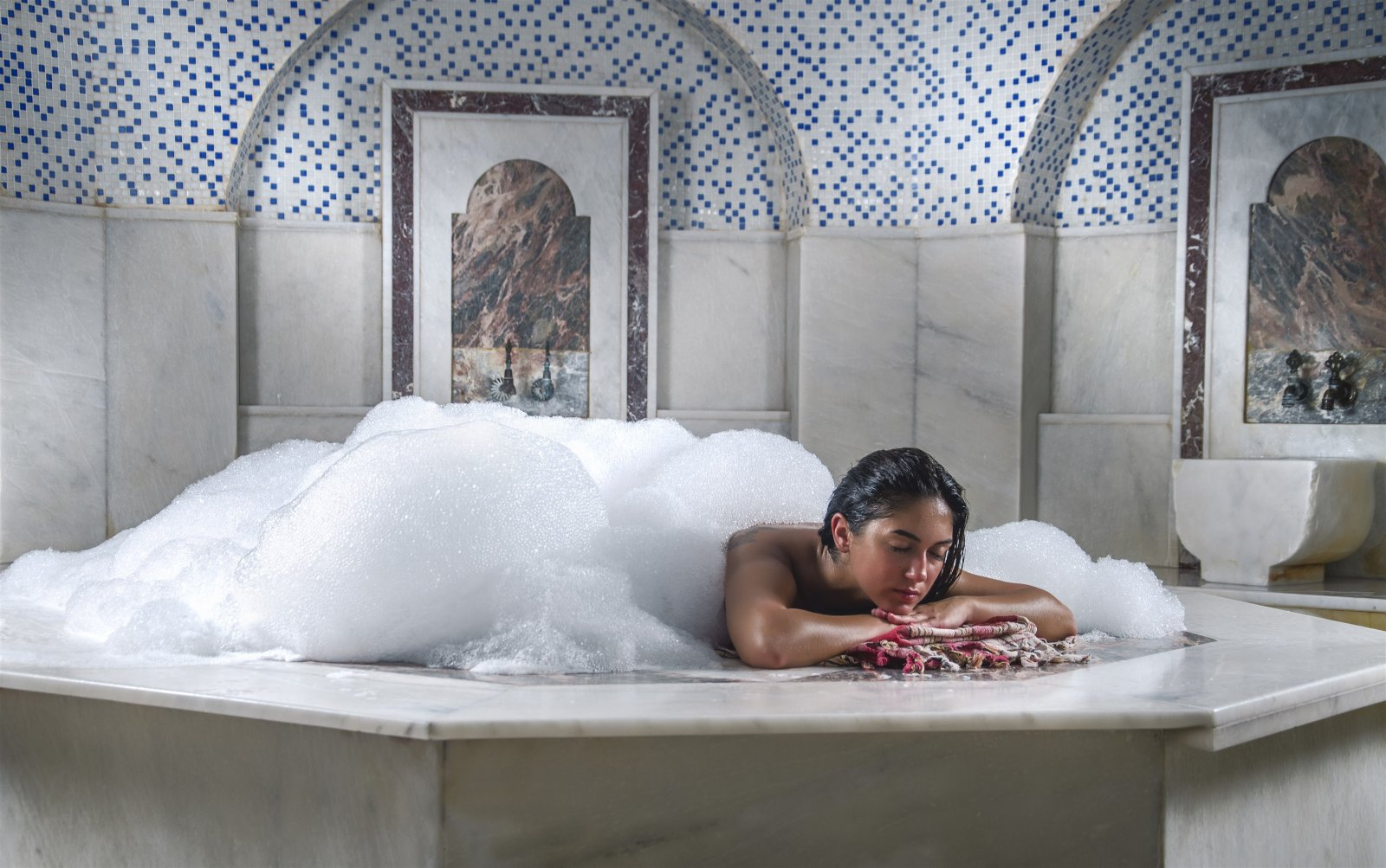 Турецкая баня в Мармарисе VIP хамам