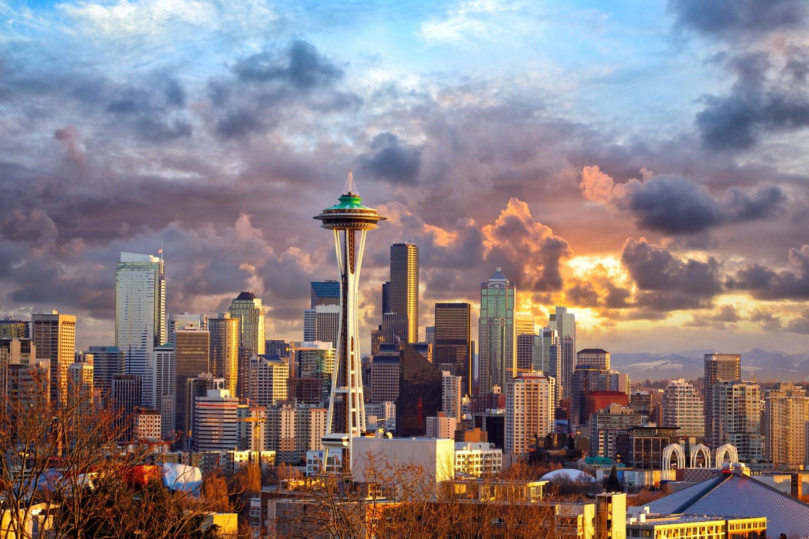Сиэтл: Достопримечательности Северо-Западной Америки
