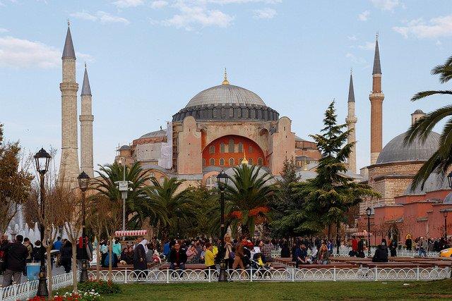 Старый город. Площадь Султанахмет и Босфор