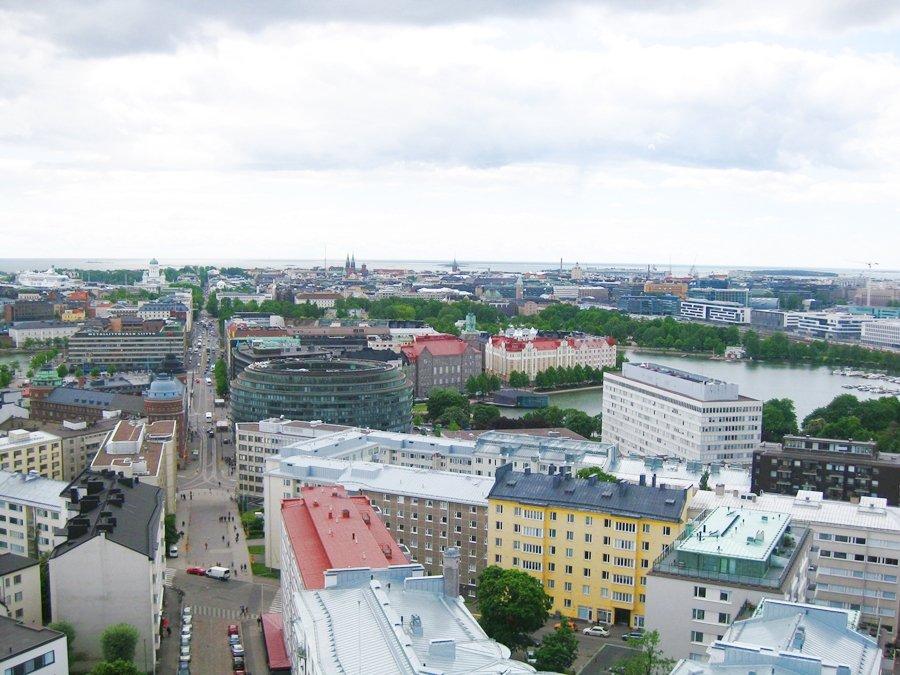 Пешком по Хельсинки