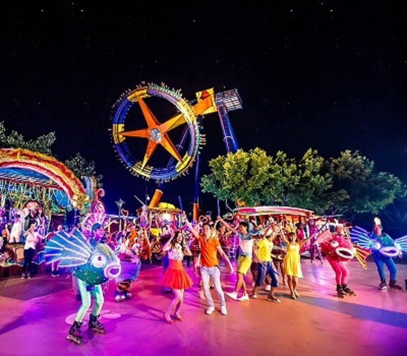 Парк развлечений, аквапарк, сафари в Панью (Гуанчжоу)