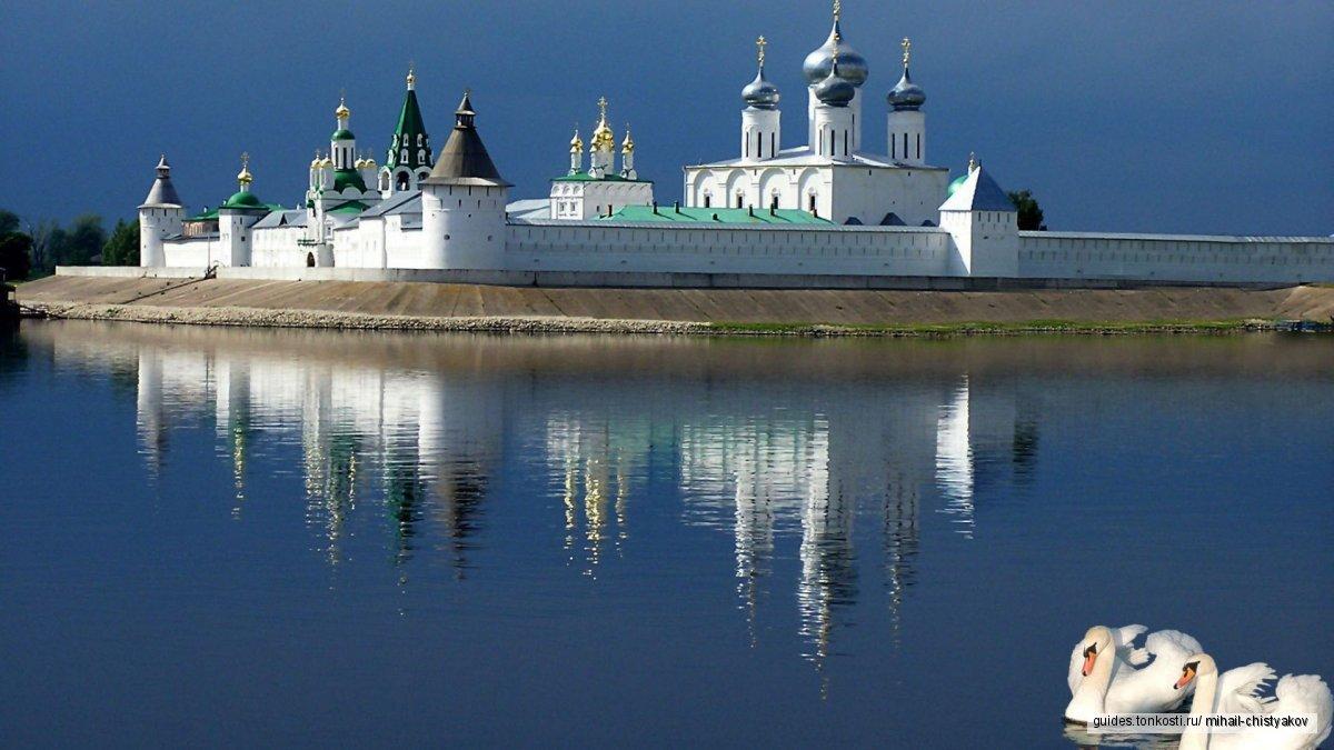 Макарьевский Желтоводский монастырь — самый красивый монастырь на Волге