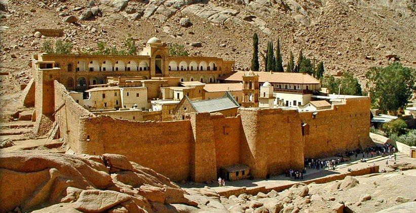 Восхождение на Гору Моисея (Искупление грехов) и посещение монастыря Св. Екатерины