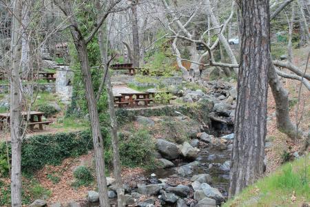 Пикник в горах для взрослых и детей. Выезд из Пафоса