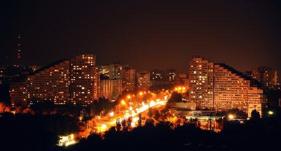 Ночная прогулка по Кишинёву