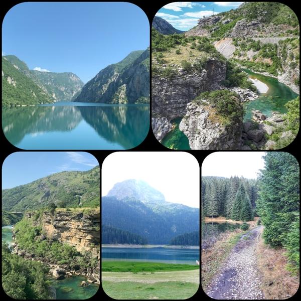 Север Черногории (Каньоны)
