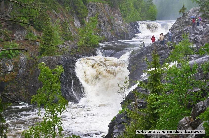 Карелия — 1 день. Водопад Кивач + вулкан Гирвас + сплав по р. Тивдия