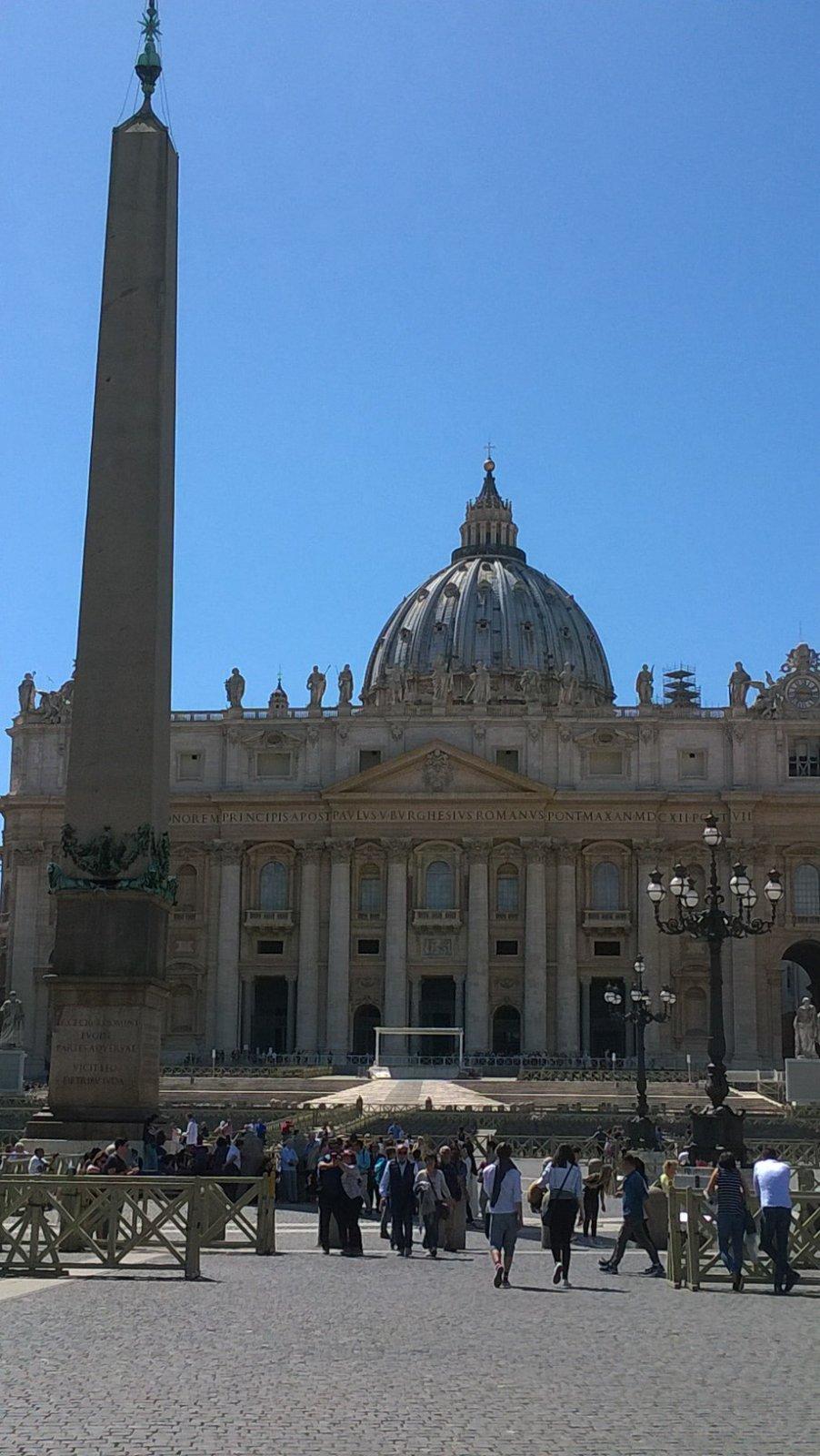 Рим античный, Рим папский