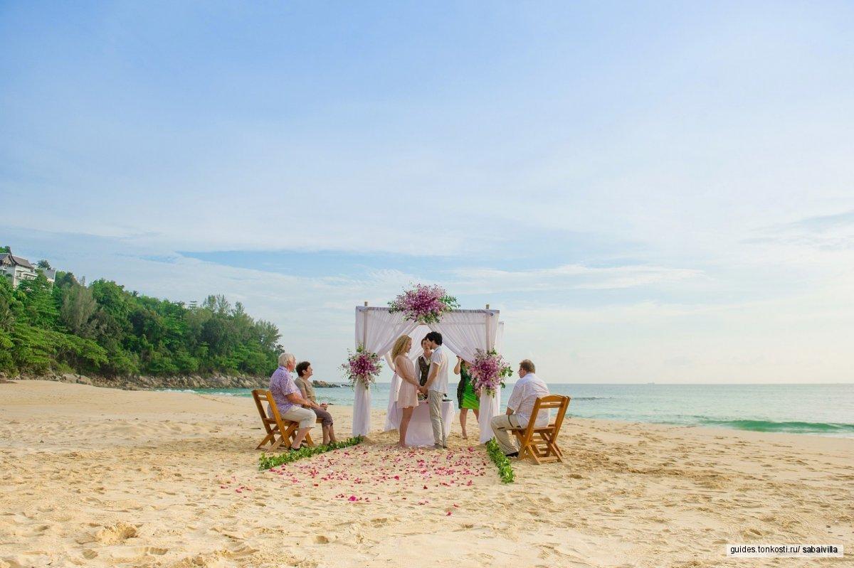 Комбинированные свадебные церемонии (тайская + европейская)