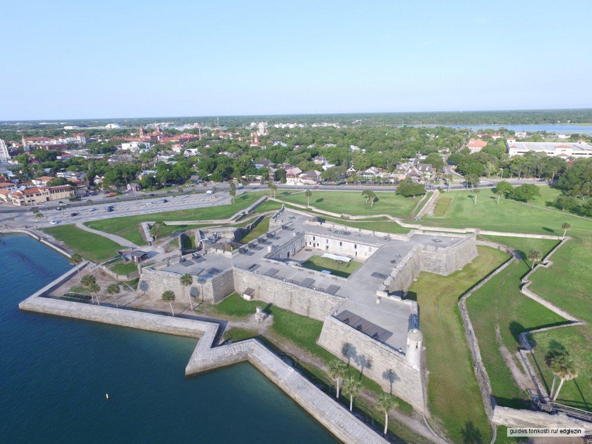 Санкт-Августин — первый город в США
