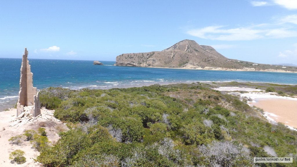 Остров Кабра, Сьете-Эрманос (Монте-Кристи)