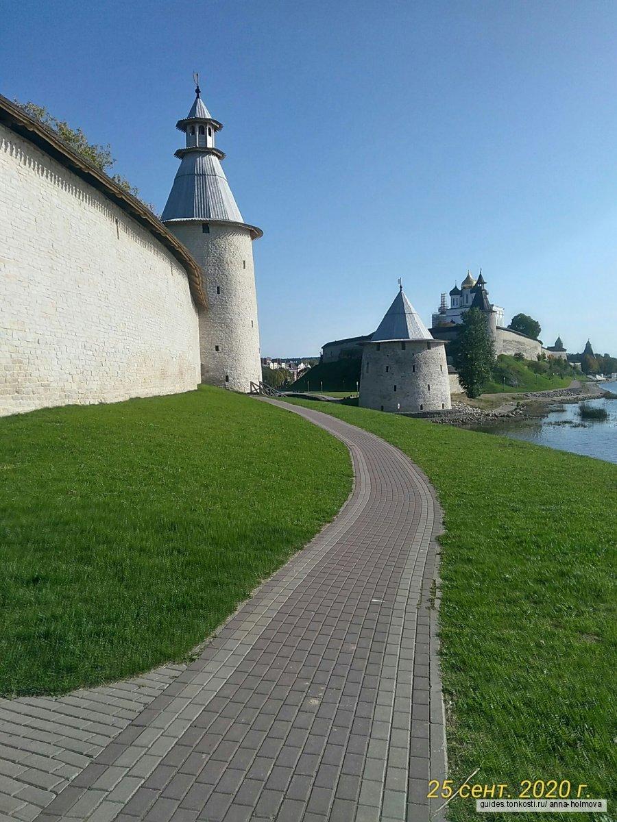 Варлаамовский угол Псковской крепости