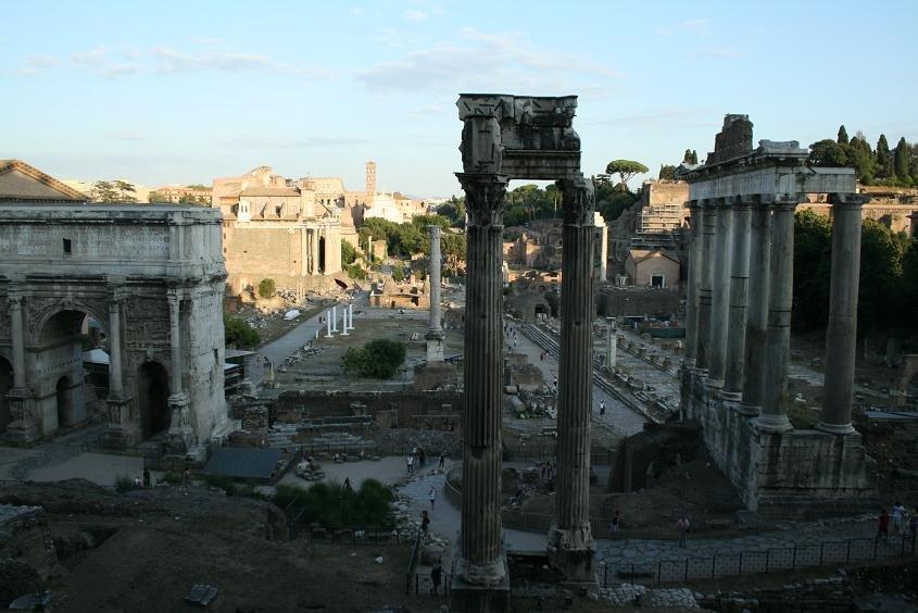 Прогулка по Древнему Риму