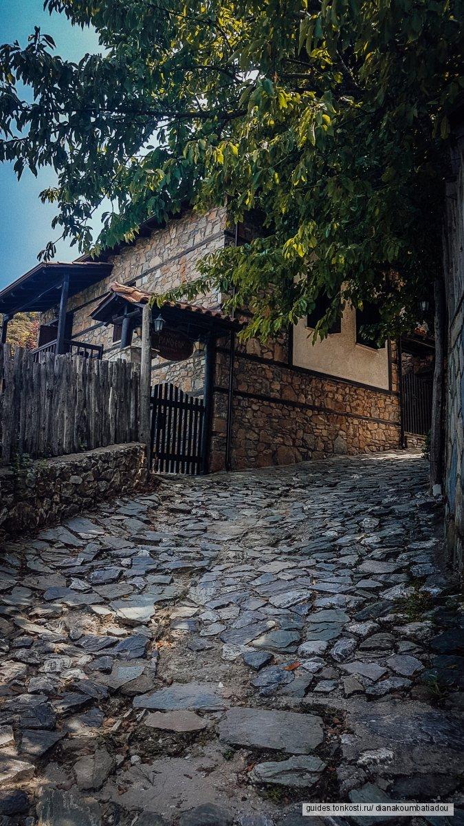 Греческая деревня, горы и ее душа!
