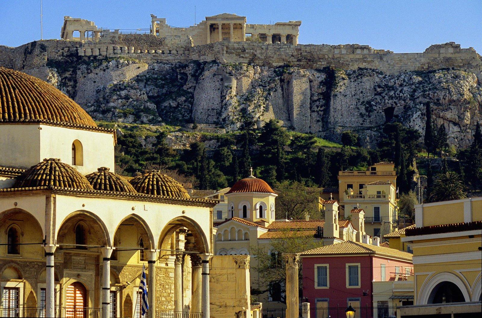 Акрополь и Старый город