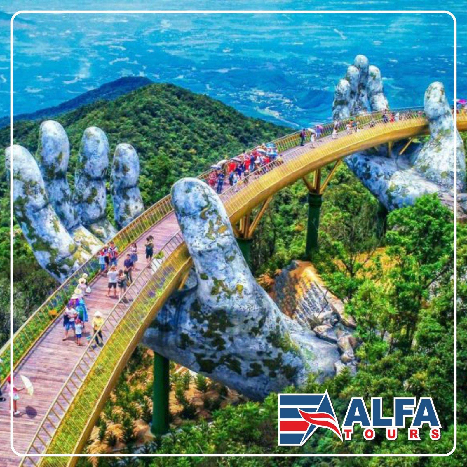 Золотой мост и парк развлечений Sun World Ba Na Hills (1 день)
