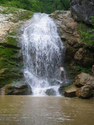 33 водопада — аул Большой Кичмай (автомобильная)