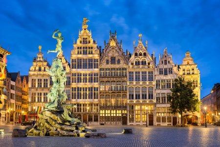 Антверпен и Брюссель