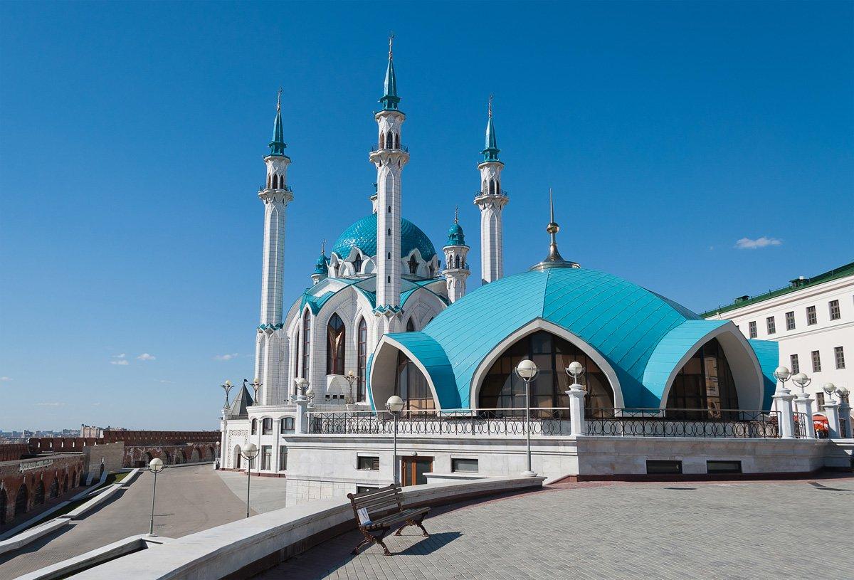 Восточные красавицы — мечети Казани