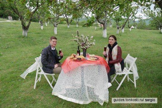 Медовый день для молодожёнов