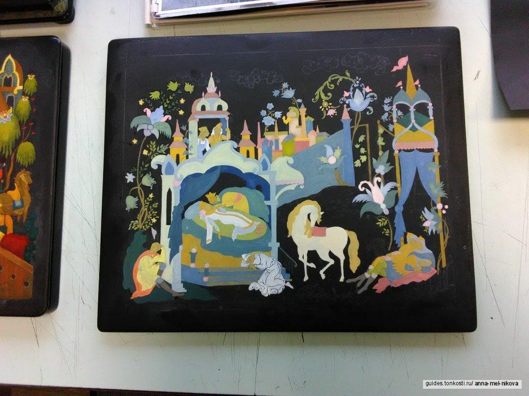 Посещение мастерской художников