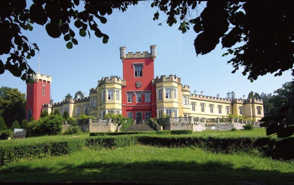 Из Праги в замок Градек-у-Неханиц + замок и город Литомышль