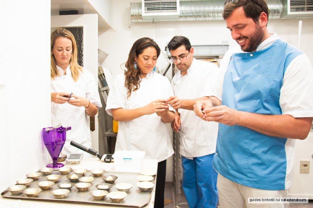 Кондитерский мастер-класс по приготовлению Паштел де Ната (Pastel de Nata)