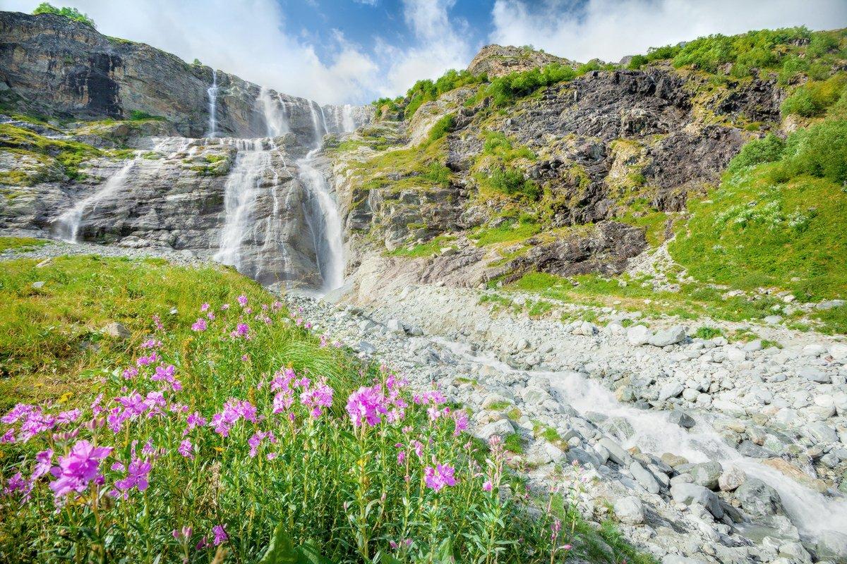 архыз софийские водопады как добраться фото культовой