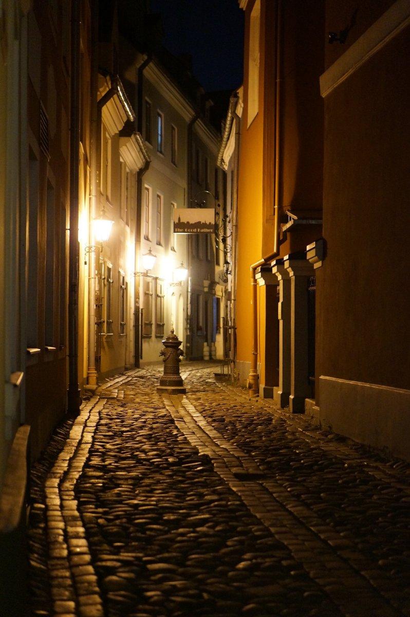 Таинственная и романтичная вечерняя Рига