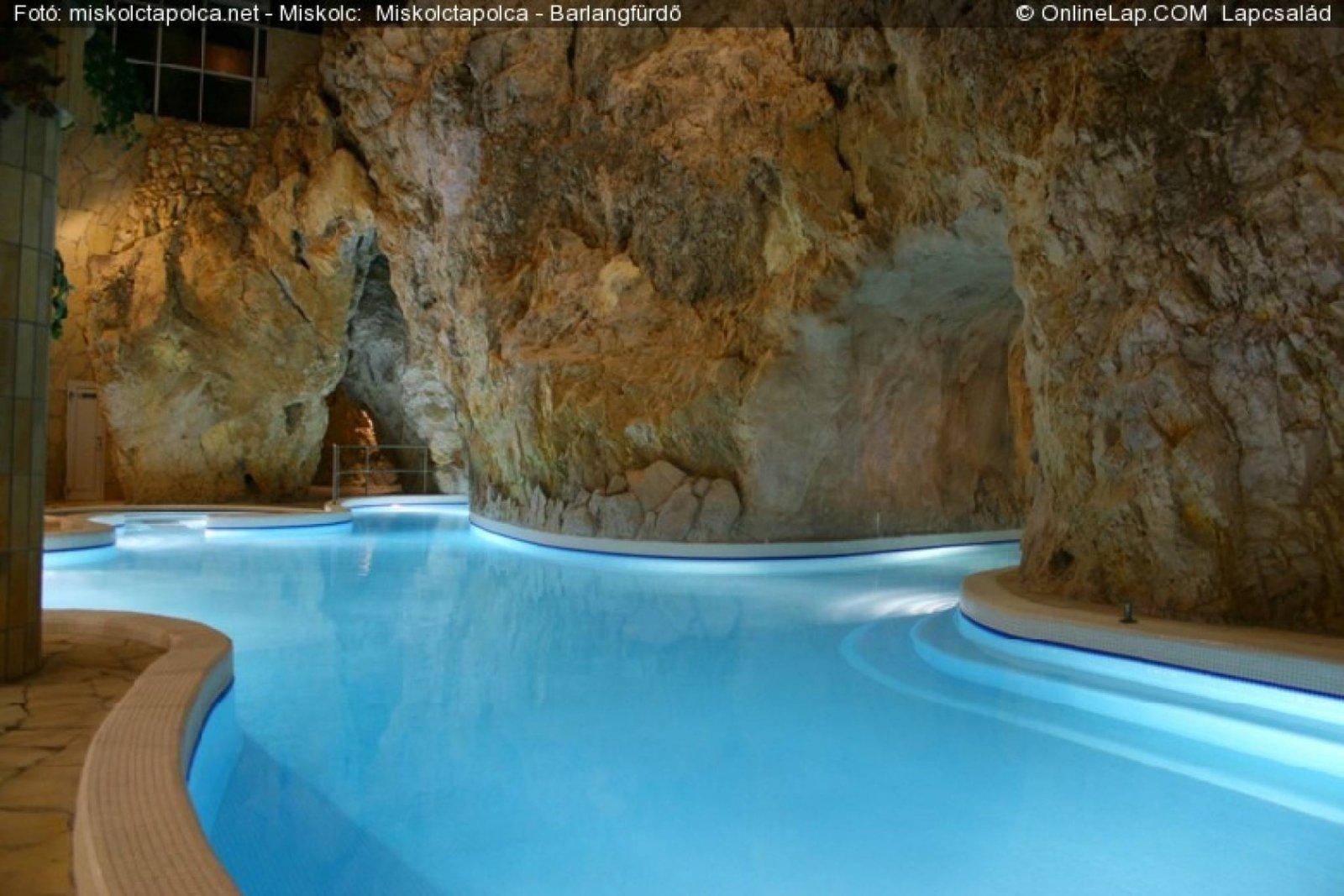 Пещерные термальные купальни в Мишкольц-Тапольце