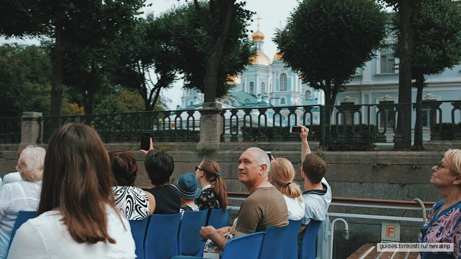 Прогулка по каналам Петербурга «Северная Венеция»