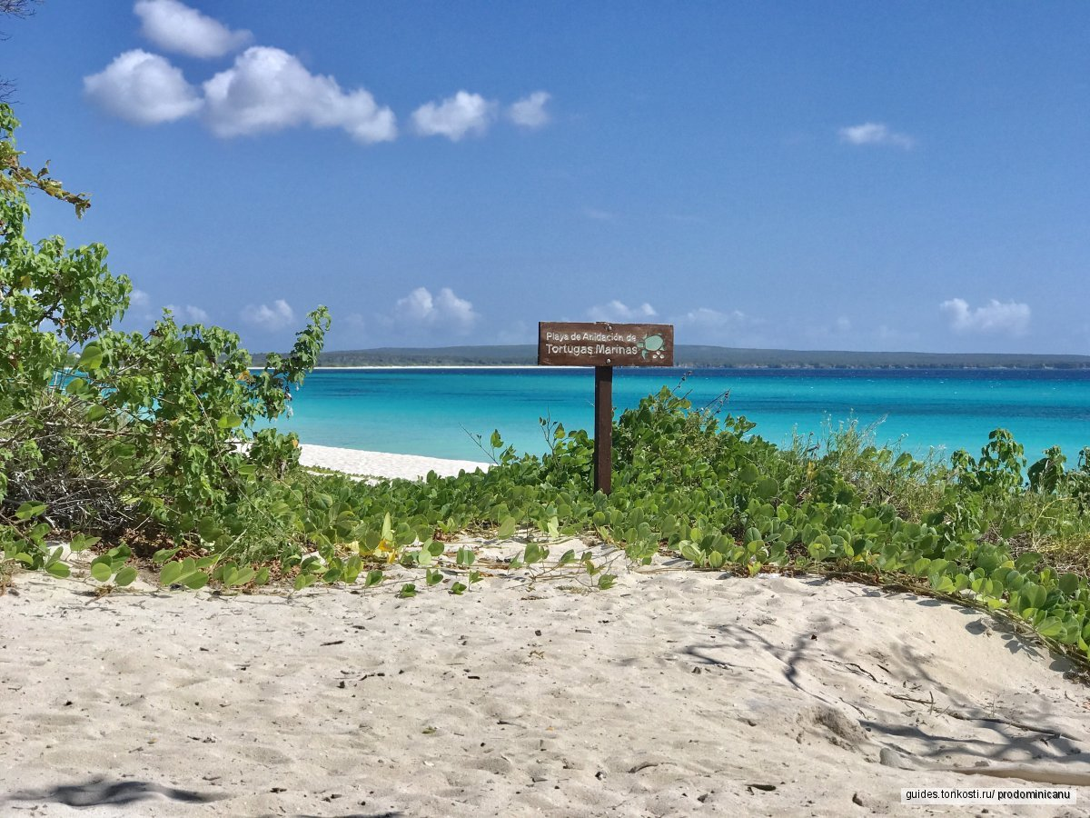 Бухта Орлов — самый красивый пляж Доминиканы