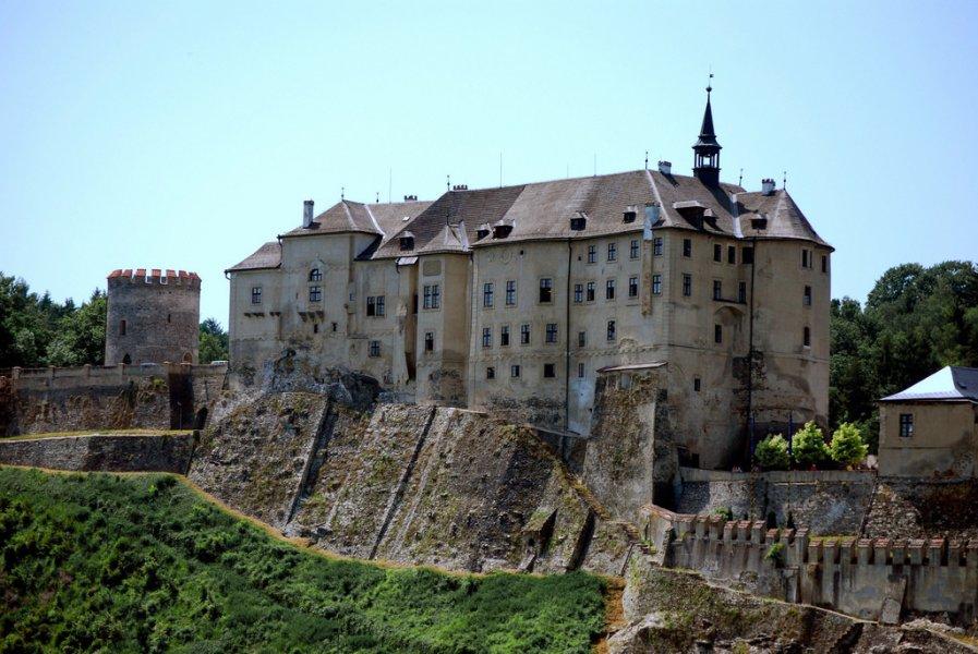 Из Праги в замок Чески-Штернберк