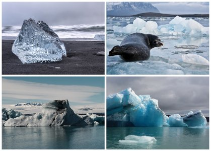 Ледниковая лагуна Йокудльсаурлон