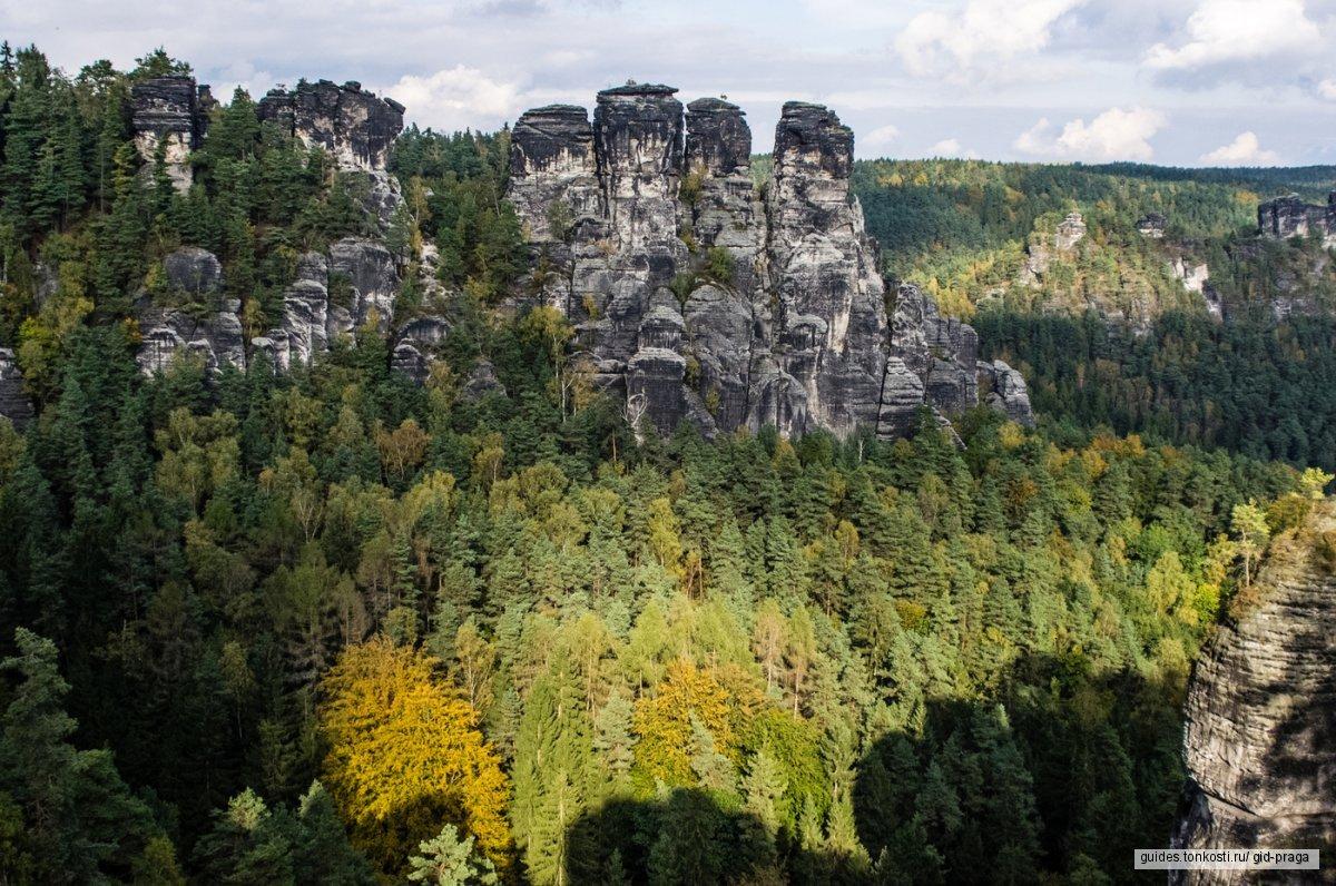 Сказочная Швейцария, неприступная крепость Кенигштайн и незабываемый Бастай