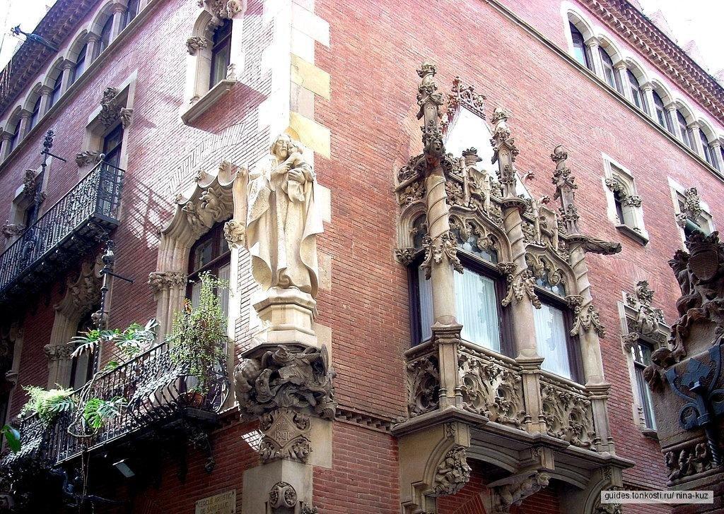 Удивительный модерн Барселоны